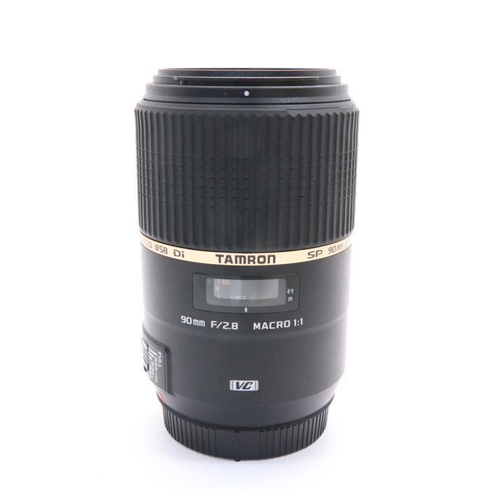 【あす楽】 【中古】 《美品》 TAMRON SP 90mm F2.8 Di MACRO 1:1 VC USD/Model F004(キヤノン用) [ Lens | 交換レンズ ]