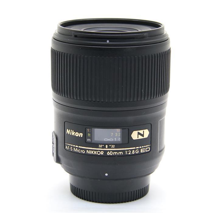 【あす楽】 【中古】 《並品》 Nikon AF-S Micro NIKKOR 60mm F2.8 G ED [ Lens | 交換レンズ ]
