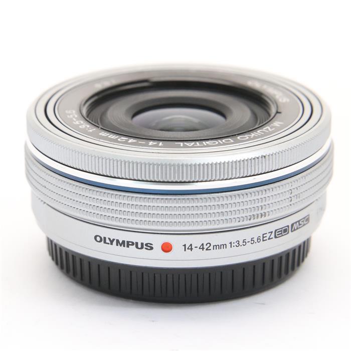 【あす楽】 【中古】 《良品》 OLYMPUS M.ZUIKO DIGITAL ED 14-42mm F3.5-5.6 EZ シルバー [ Lens | 交換レンズ ]