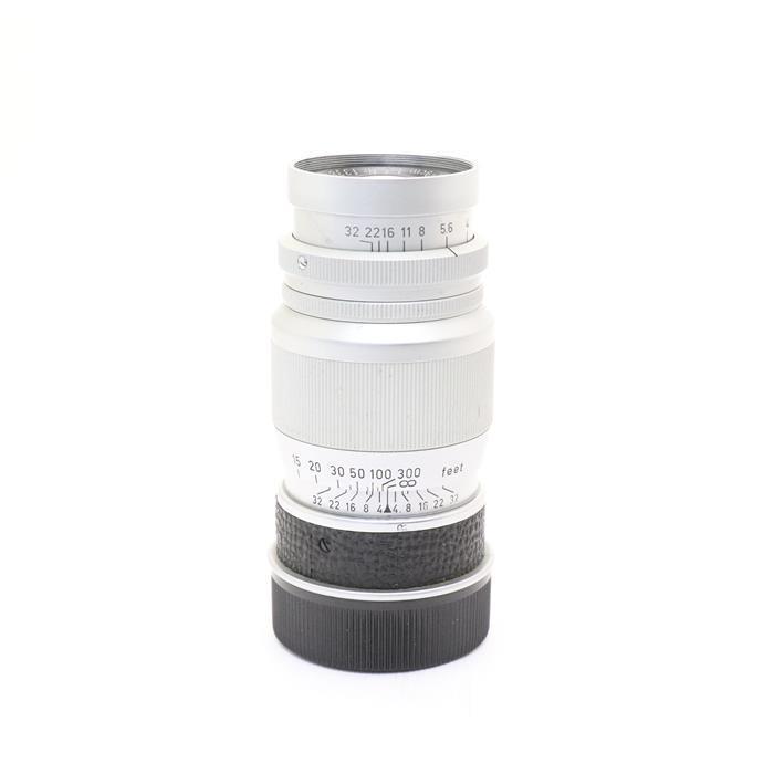 【あす楽】 【中古】 《良品》 Leica エルマー L90mm F4 クローム後期 【絞り羽根清掃/各部点検済】 [ Lens | 交換レンズ ]