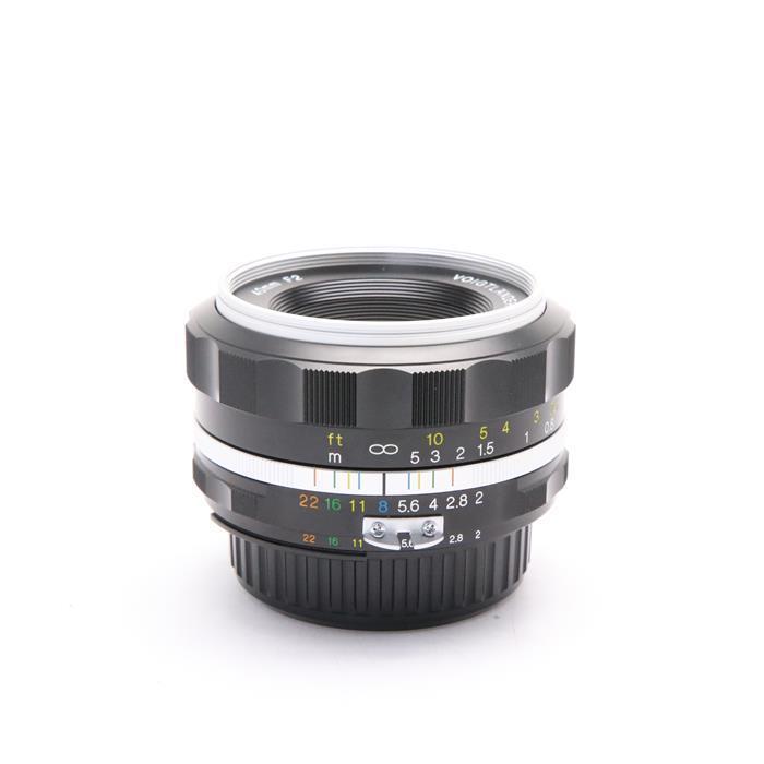 【あす楽】 【中古】 《美品》 Voigtlander ULTRON 40mm F2 Aspherical SL II S(ニコンF用) シルバーリム [ Lens | 交換レンズ ]