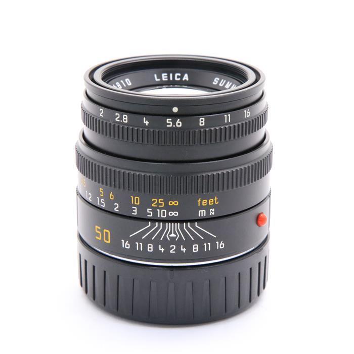 【あす楽】 【中古】 《良品》 Leica ズミクロン M50mm F2 レンズフード組込 ブラック [ Lens | 交換レンズ ]
