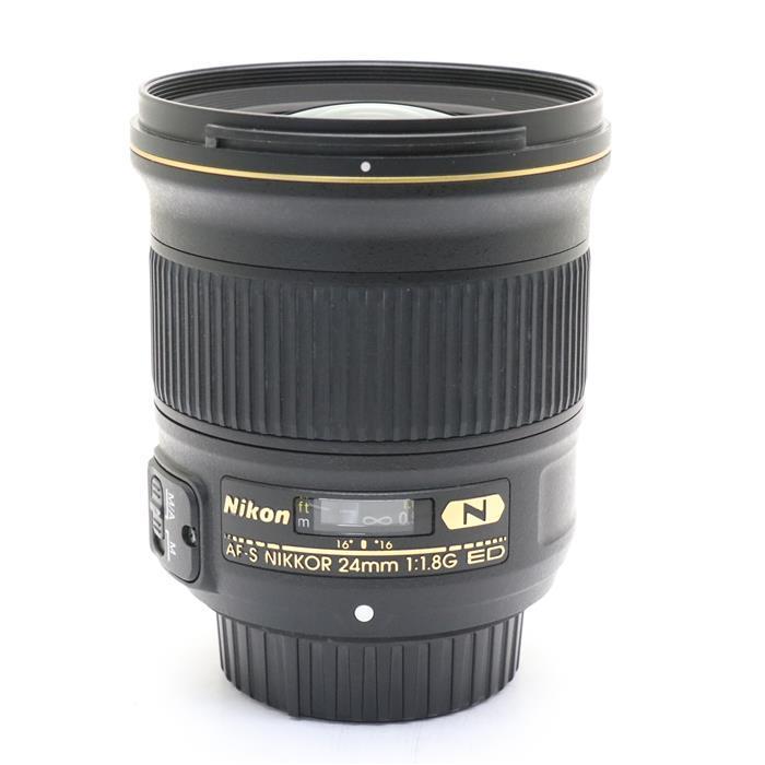 【あす楽】 【中古】 《並品》 Nikon AF-S NIKKOR 24mm F1.8G ED [ Lens | 交換レンズ ]