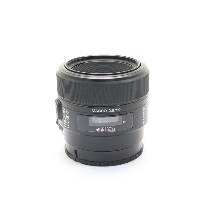 【あす楽】 【中古】 《良品》 SONY 50mm F2.8マクロ SAL50M28 [ Lens | 交換レンズ ]