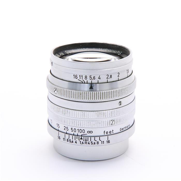 【あす楽】 【中古】 《難有品》 Leica ズマリット L50mm F1.5 (前期) [ Lens | 交換レンズ ]