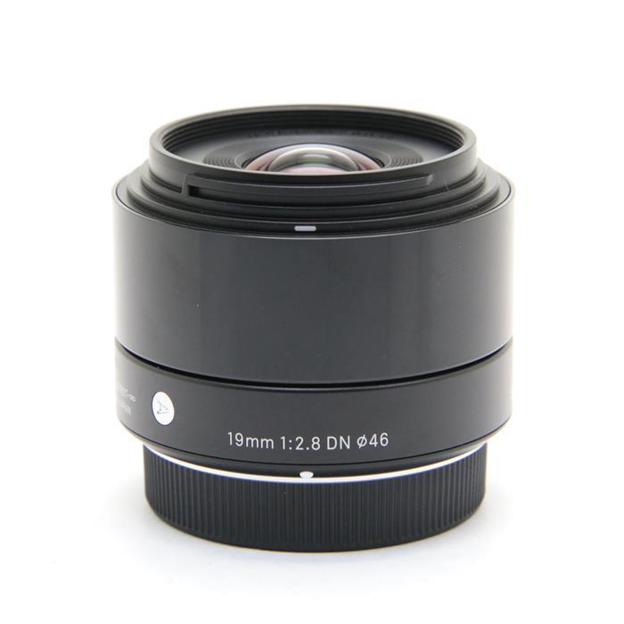 【あす楽】 【中古】 《美品》 SIGMA A 19mm F2.8 DN (マイクロフォーサーズ用) ブラック [ Lens | 交換レンズ ]