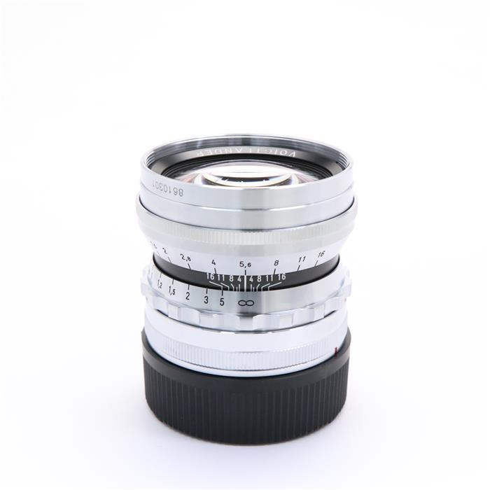【あす楽】 【中古】 《美品》 Voigtlander NOKTON 50mm F1.5 Vintage Line Aspherical VM(ライカM用) シルバー [ Lens | 交換レンズ ]