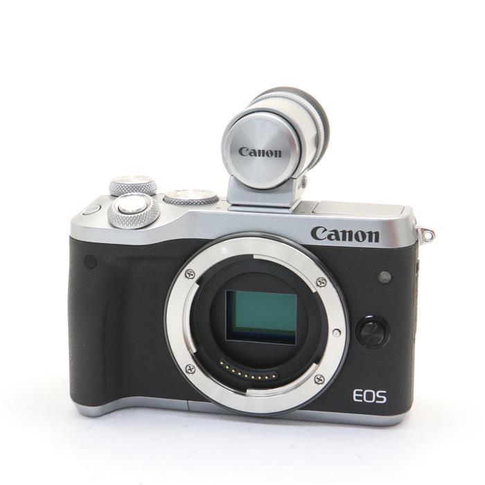 【あす楽】 【中古】 《美品》 Canon EOS M6 ボディEVFキット シルバー [ デジタルカメラ ]