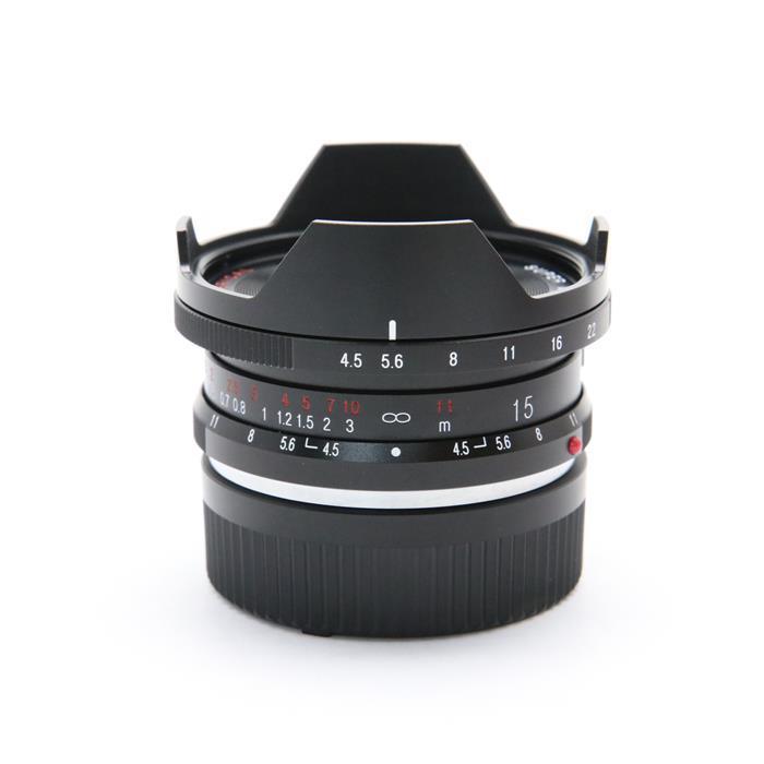 【あす楽】 【中古】 《良品》 Voigtlander SUPER WIDE-HELIAR 15mm F4.5 Aspherical II VM ライカM用 [ Lens | 交換レンズ ]
