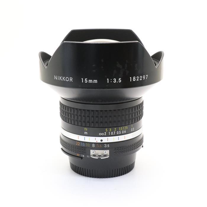 【あす楽】 【中古】 《並品》 Nikon Ai 15mm F3.5S [ Lens | 交換レンズ ]