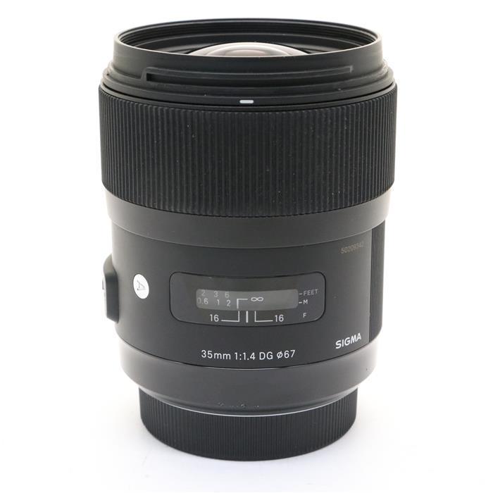 【あす楽】 【中古】 《並品》 SIGMA A 35mm F1.4 DG HSM(ソニーα用) [ Lens | 交換レンズ ]