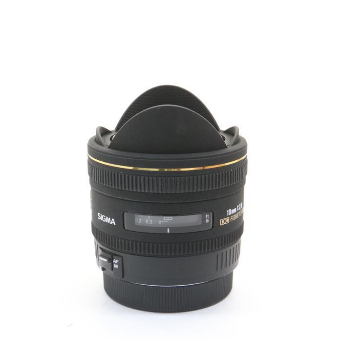 【あす楽】 【中古】 《良品》 SIGMA 10mm F2.8 EX DC Fisheye HSM(キヤノン用) [ Lens | 交換レンズ ]