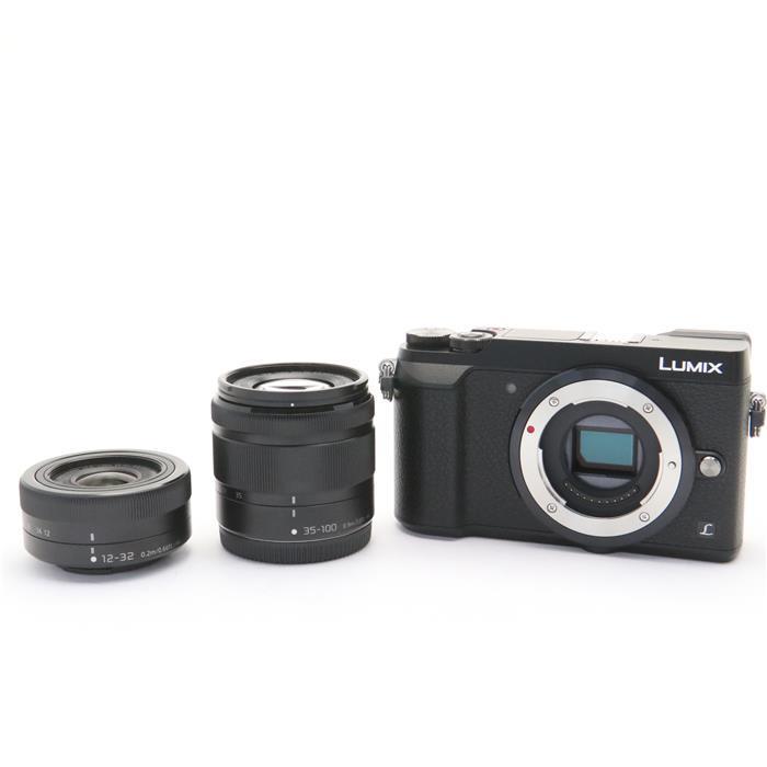 【あす楽】 【中古】 《良品》 Panasonic LUMIX DMC-GX7MK2W ダブルズームキット ブラック [ デジタルカメラ ]