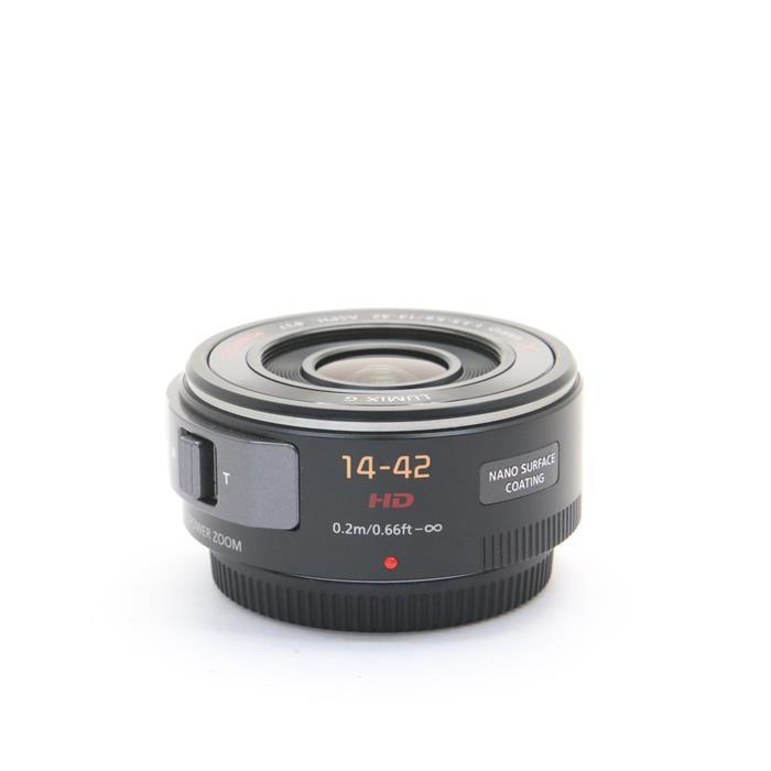 【あす楽】 【中古】 《美品》 Panasonic G X PZ 14-42mm F3.5-5.6 ASPH. POWER O.I.S. ブラック (マイクロフォーサーズ) [ Lens | 交換レンズ ]
