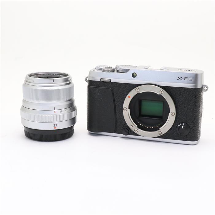 【あす楽】 【中古】 《良品》 FUJIFILM X-E3 XF23mm F2 R WRキット シルバー [ デジタルカメラ ]