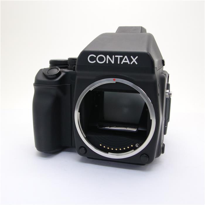 【あす楽】 【中古】 《良品》 CONTAX 645(AEプリズムファインダー、120ホルダー付き)
