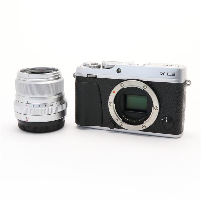 【あす楽】 【中古】 《並品》 FUJIFILM X-E3 XF23mm F2 R WRキット シルバー [ デジタルカメラ ]
