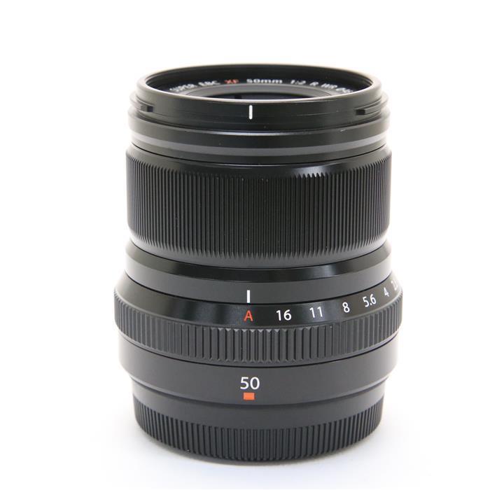 激安正規  《良品》 FUJIFILM フジノン XF50mm F2 R WR ブラック [ Lens   交換レンズ ], ゴダイ 017acb91