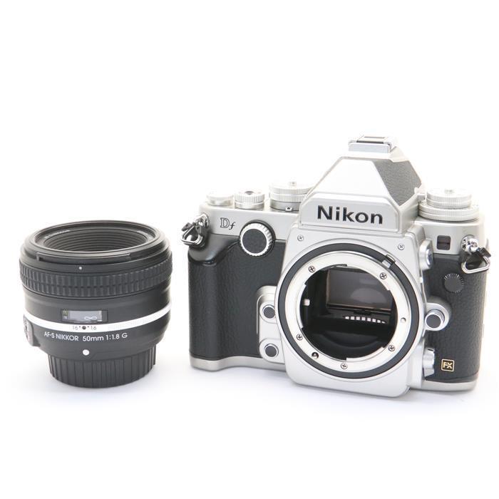【あす楽】 【中古】 《良品》 Nikon Df 50mm F1.8G Special Editionキット シルバー [ デジタルカメラ ]