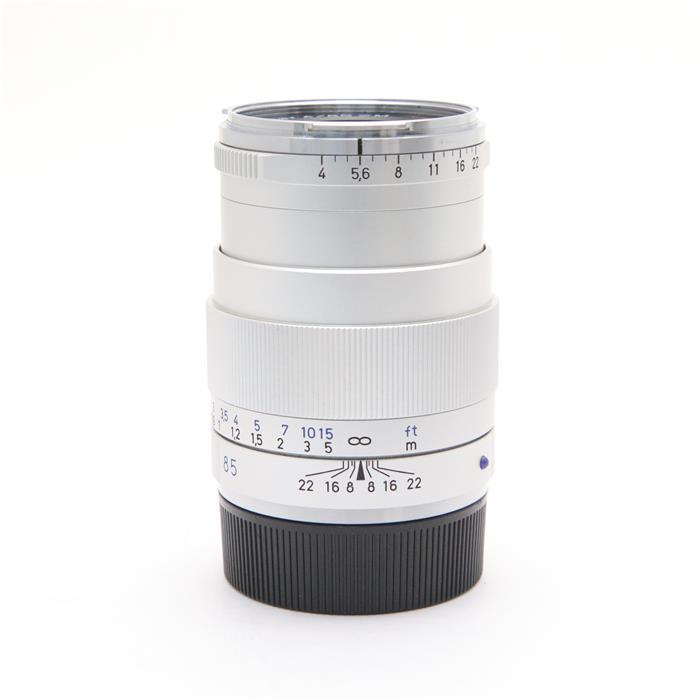 【あす楽】 【中古】 《並品》 Carl Zeiss Tele-Tessar T* 85mm F4 ZM シルバー [ Lens | 交換レンズ ]