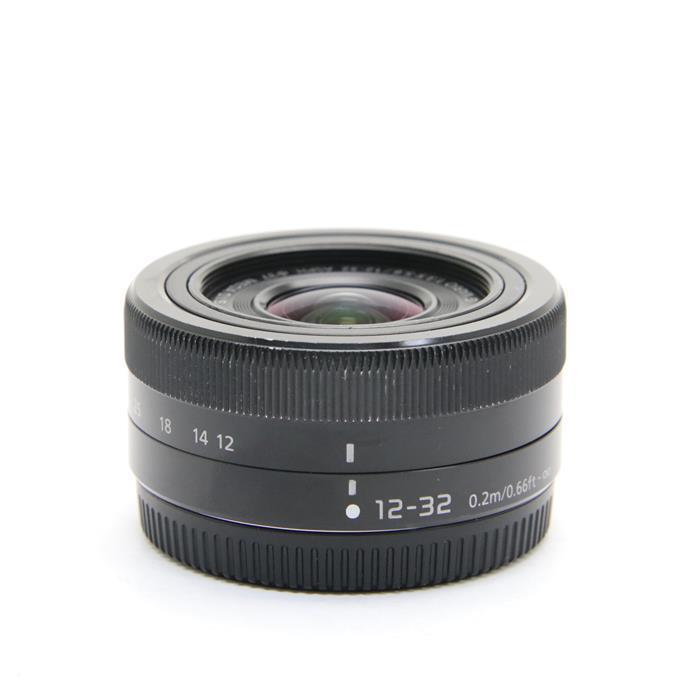 【あす楽】 【中古】 《並品》 Panasonic G VARIO12-32mm F3.5-5.6 ASPH. MEGA O.I.S. ブラック (マイクロフォーサーズ) [ Lens | 交換レンズ ]