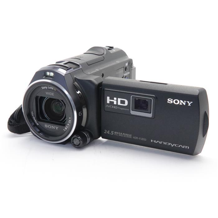 【あす楽】 【中古】 《良品》 SONY デジタルHDビデオカメラレコーダー HANDYCAM HDR-PJ800 ブラック