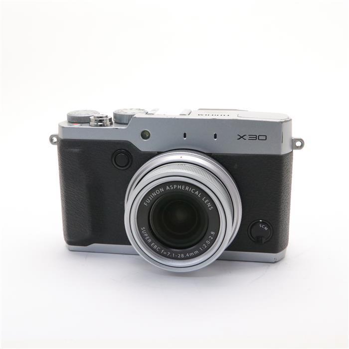 【あす楽】 【中古】 《並品》 FUJIFILM X30 シルバー [ デジタルカメラ ]