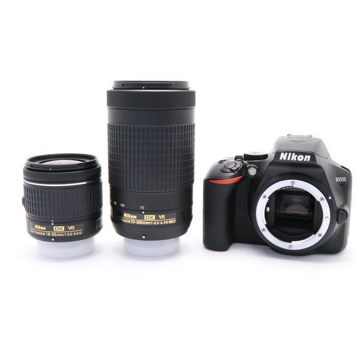 【あす楽】 【中古】 《新同品》 Nikon D3500 ダブルズームキット [ デジタルカメラ ]