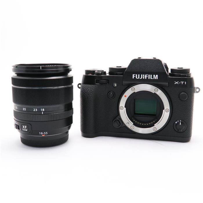 【あす楽】 【中古】 《並品》 FUJIFILM X-T1 + XF18-55mmキット ブラック [ デジタルカメラ ]