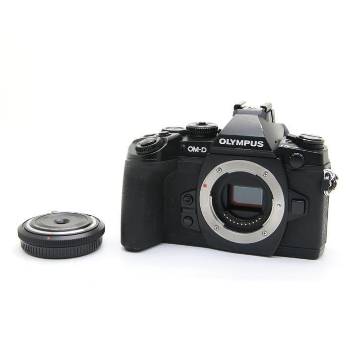 【あす楽】 【中古】 《並品》 OLYMPUS OM-D E-M1 (BCL-1580セット) ブラック [ デジタルカメラ ]