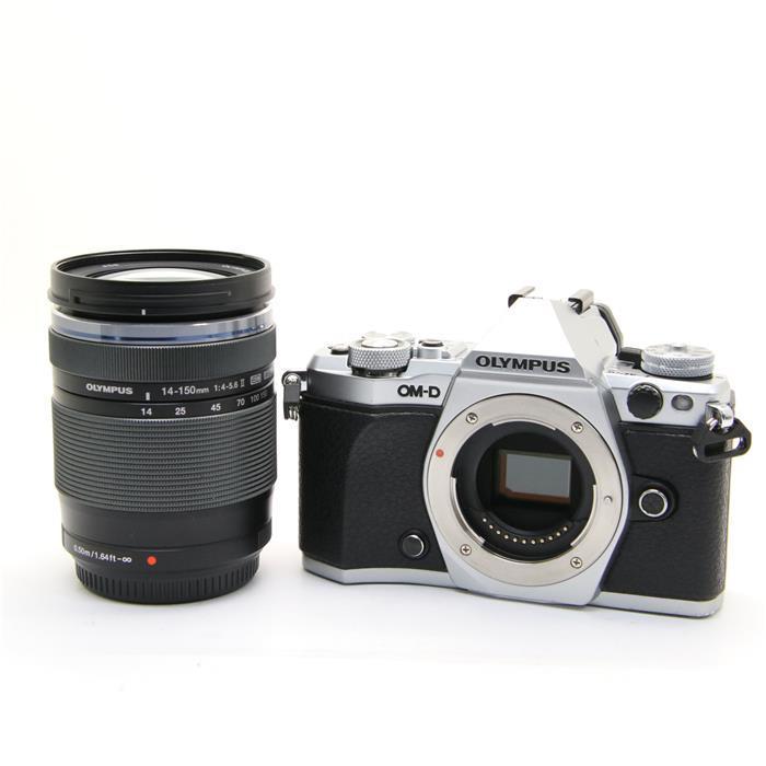 【あす楽】 【中古】 《良品》 OLYMPUS OM-D E-M5 Mark II 14-150mmIIレンズキット シルバー [ デジタルカメラ ]