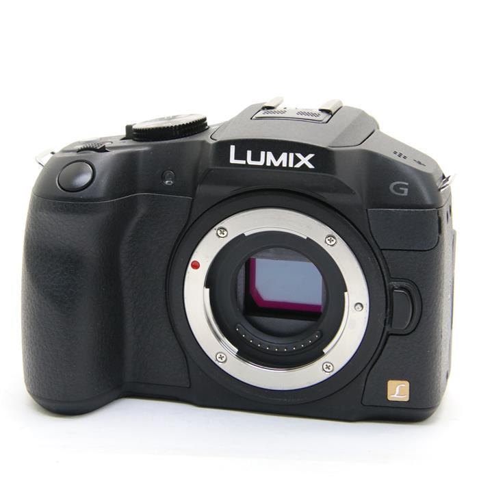 【あす楽】 【中古】 《美品》 Panasonic LUMIX DMC-G6 ブラック [ デジタルカメラ ]