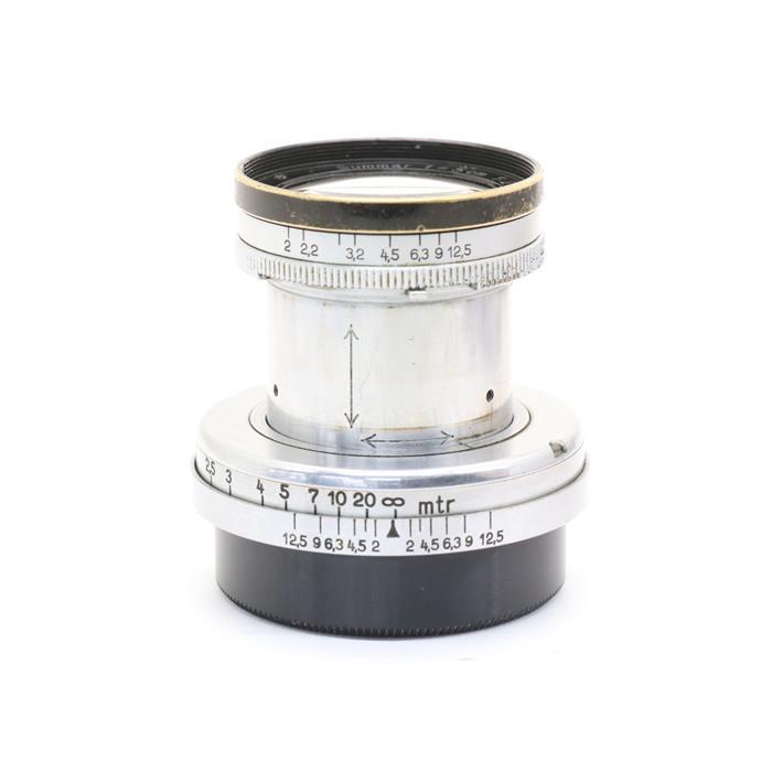 【あす楽】 【中古】 《難有品》 Leica ズマール L50mm F2 先黒クローム [ Lens   交換レンズ ]