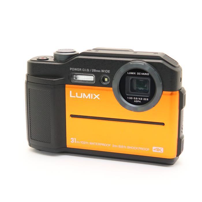【あす楽】 【中古】 《良品》 Panasonic LUMIX DC-FT7 オレンジ [ デジタルカメラ ]