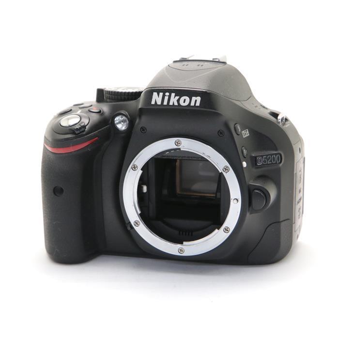 【あす楽】 【中古】 《並品》 Nikon D5200 ボディ ブラック [ デジタルカメラ ]