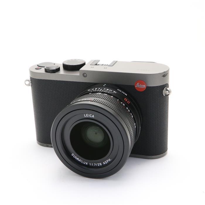 【あす楽】 【中古】 《並品》 Leica Q(Typ116) チタングレー[ デジタルカメラ ]