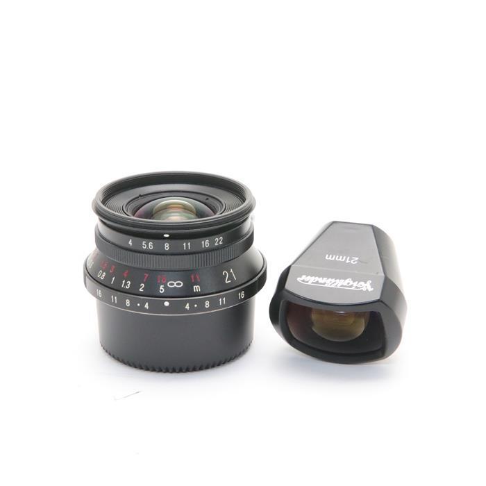 【あす楽】 【中古】 《並品》 Voigtlander COLOR SKOPAR 21mm F4(専用ファインダー付) ブラック [ Lens | 交換レンズ ]
