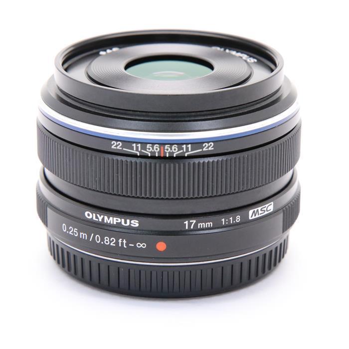 【あす楽】 【中古】 《並品》 OLYMPUS M.ZUIKO DIGITAL 17mm F1.8 ブラック (マイクロフォーサーズ) [ Lens | 交換レンズ ]