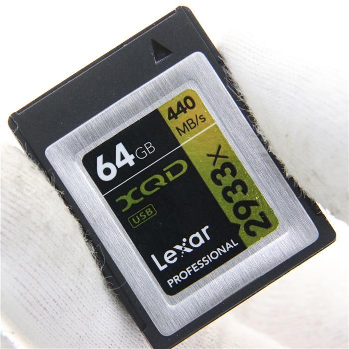 【あす楽】 【中古】 《良品》 LEXAR Professional 2933x XQD2.0カード 64GB LXQD64GCRBJP2933