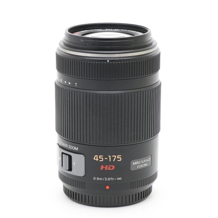 【あす楽】 【中古】 《並品》 Panasonic G X PZ 45-175mm F4.0-5.6 ASPH. POWER O.I.S. ブラック (マイクロフォーサーズ) [ Lens | 交換レンズ ]