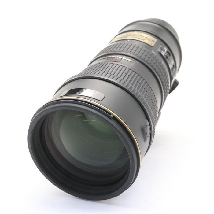 【あす楽】 【中古】 《良品》 Nikon AF-S VR ED 70-200mm F2.8 G(IF) ブラック [ Lens   交換レンズ ]