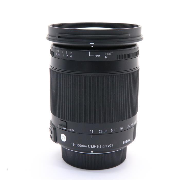 【あす楽】 【中古】 《美品》 SIGMA C 18-300mm F3.5-6.3 DC MACRO OS HSM(ニコン用) [ Lens   交換レンズ ]