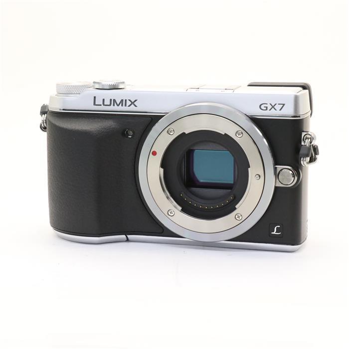 【あす楽】 【中古】 《美品》 Panasonic LUMIX DMC-GX7 シルバー [ デジタルカメラ ]
