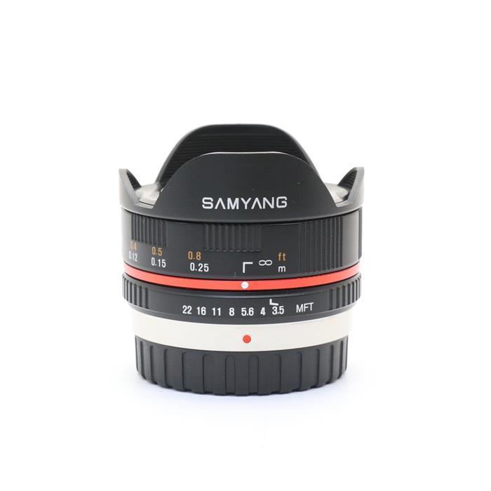 【あす楽】 【中古】 《良品》 SAMYANG 7.5mm F3.5 フィッシュアイ(マイクロフォーサーズ用) ブラック [ Lens   交換レンズ ]