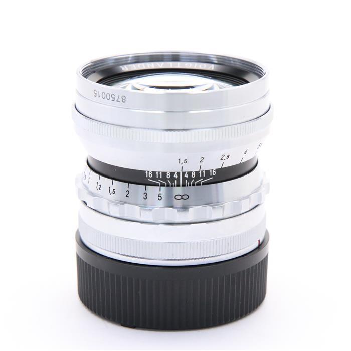 【あす楽】 【中古】 《良品》 Voigtlander NOKTON 50mm F1.5 Vintage Line Aspherical VM(ライカM用) シルバー [ Lens   交換レンズ ]