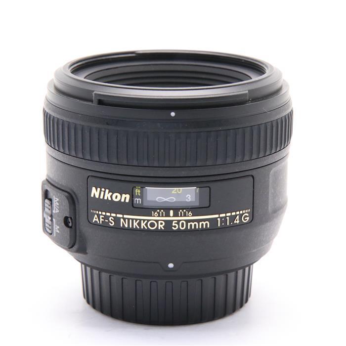 【あす楽】 【中古】 《良品》 Nikon AF-S NIKKOR 50mm F1.4 G [ Lens   交換レンズ ]
