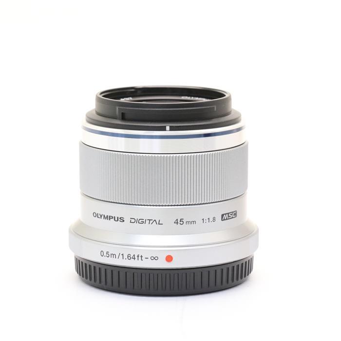 【あす楽】 【中古】 《美品》 OLYMPUS M.ZUIKO DIGITAL 45mm F1.8 シルバー (マイクロフォーサーズ) [ Lens | 交換レンズ ]