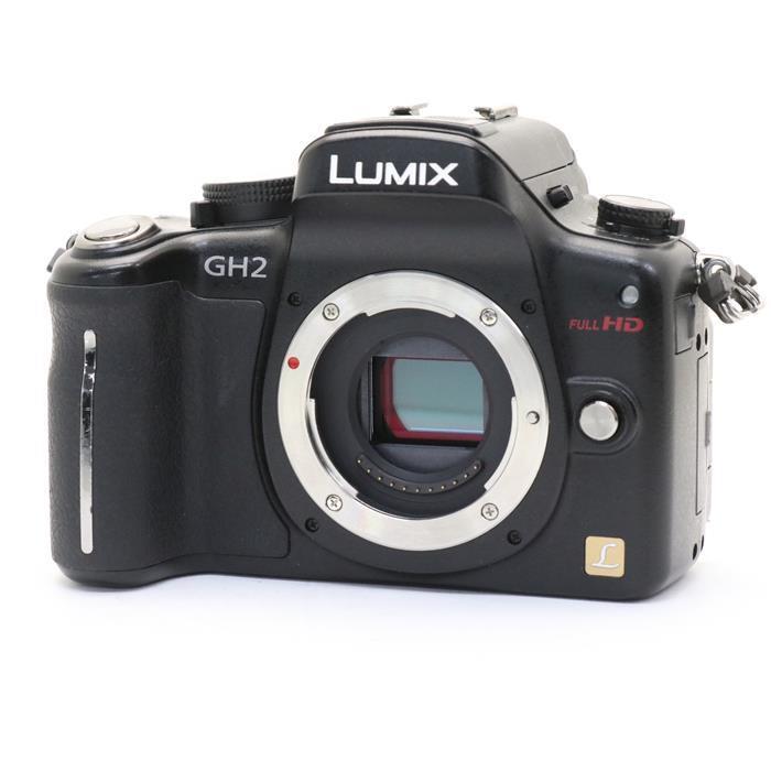 【あす楽】 【中古】 《並品》 Panasonic LUMIX DMC-GH2 ボディ ブラック [ デジタルカメラ ]