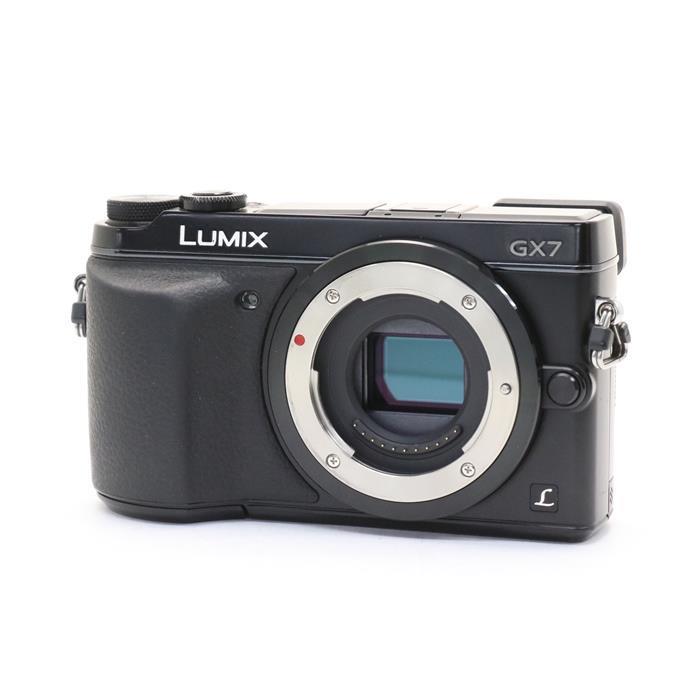 【あす楽】 【中古】 《並品》 Panasonic LUMIX DMC-GX7 ブラック [ デジタルカメラ ]