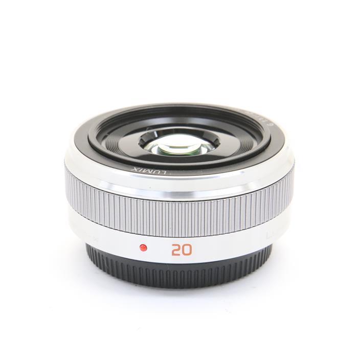 【あす楽】 【中古】 《良品》 Panasonic G 20mm F1.7 II ASPH. シルバー (マイクロフォーサーズ) [ Lens | 交換レンズ ]